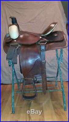 Roping Saddle