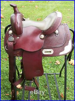 Royal King 12 Youth Childrens Western Horse Saddle Dark Oil Used / Excellent