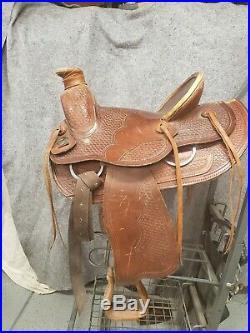 Saddle King Roping Saddle