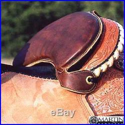 Saddle Seat Shrinker Chap Leather by Martin Saddlery New Free Shipping