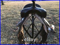 Sady Lane Pleasure Barrel Saddle 15.5-inch Dk. Walnut