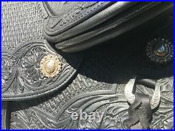 Schleese Black15 Devin Western Saddle -$4500 OBO