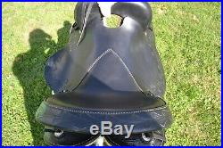 Sharp Tail Gaited Western Leather Saddle OVERSTOCK by TN Saddlery