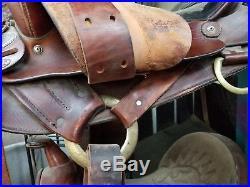 Simco Endurance Trail Mounted Saddle 16