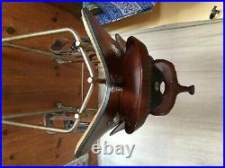 Simco Simflex Flex Tree Western Saddle, 17 seat, Brown, Good Condition