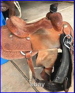 South Texas Tack Calf Roping Saddle