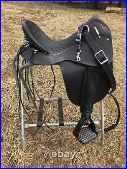 Steele Gaited Trail Saddle, Medium Seat