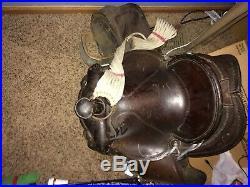 Sturdy Western Saddle Very Heavy Circle Y