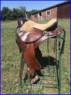 Synergist John De Petrie Equitation Endurance Saddle #561 wide tree