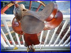 TexTan Barrel Saddle 15