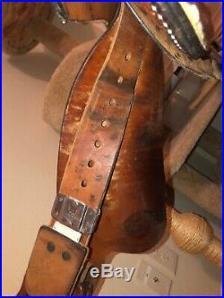 Tex Tan Barrel Saddle