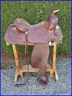 Tex Tan Hereford Brand Western 16-inch Saddle