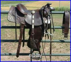 Tex Tan Hereford Brand Western Show Or Trail Saddle