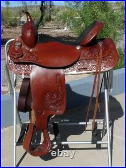Tex Tan Trail Saddle 16