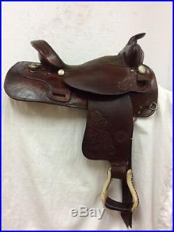 Tex Tan Used 16 Regular Bar Trail Saddle #08-416 595-10032