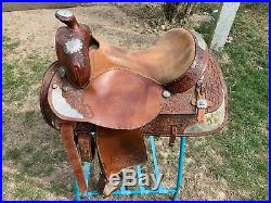 Tex Tan Used Western Show Saddle 16
