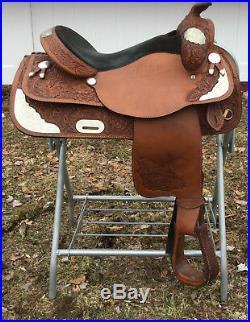 Tex Tan Western Pleasure Show Saddle