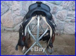 Tex Tan flex tree Western Saddle 16 black