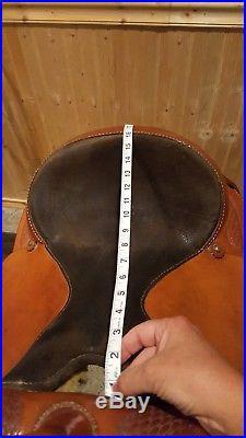 Tex Tan western saddle 16in