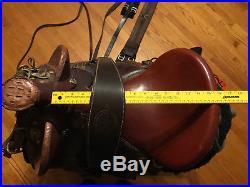 Trevor James Australian Saddle Company Champion Somerset Poley saddle and tack