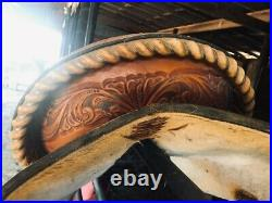 Trophy Barrel Racing Saddle