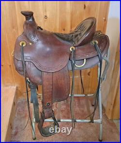 Tucker 15 Cimmaron Western Saddle-Used