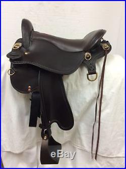 Tucker 16.5 Equitation Trail Saddle Wide/Full Bar Demo #9212-T59-621-5133-12