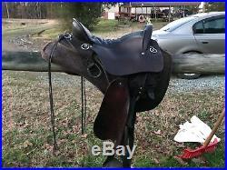Tucker Endurance Saddle 15.5
