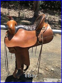 Tucker Extra Wide Trail Pleasure Saddle