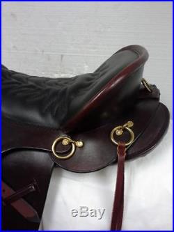 Tucker Saddlery 17.5 Equitation Trail Saddle RQHB #149-720-4163-11