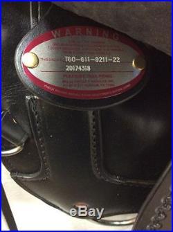 Tucker Saddlery T60 16.5 T-Series High Plains Trail Wide Bar T60-611-9211-22
