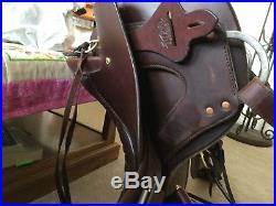Tucker endurance saddle 16, barely used