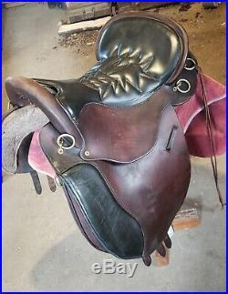Tucker saddle 16.5 medium endurance