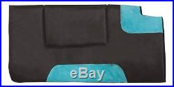 Turquoise Light Weight 15 16 17 18 Trail Horse Western Pleasure Saddle Tack Pad