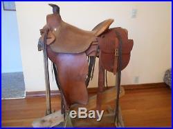 USED 3B VISALIA A FORK SADDLE 3 with Matching Saddle Bags