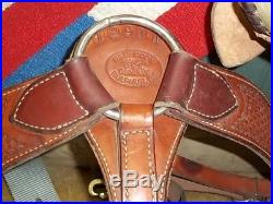 Used 14 Billy Cook Youth Ranch Roper Saddle Model 2511 Sulpher, OK Free Ship