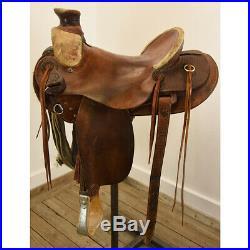 Used 15 Billy Cook Wade Ranch Saddle Code U15BCWADE12BSK