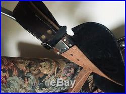 Used Barrel Saddle- Pozzi Pro