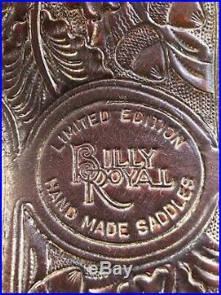 Used Billy Royal Western Show Saddle 16