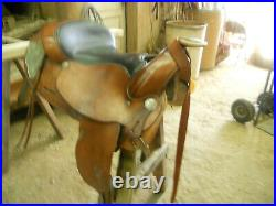 Used Bona Allen 15 inch saddle brown