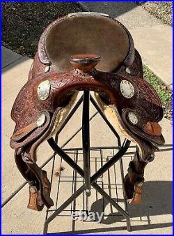 Used Circle Y Western Saddle