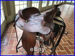 Used Colorado Saddlery Western Stock Saddle 15 1/2 inch seat