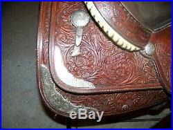 Vintage Circle Y Show Saddle