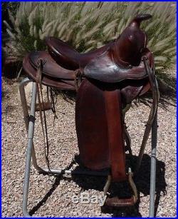 Vintage Collector Carl Carlock Phoenix, AZ Saddle