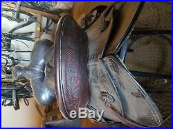 Vintage Vanco ranch saddle