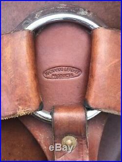 Western Ranch Trail Saddle 15 Breast Collar Cinch Back Cinch Handmade Good Cond