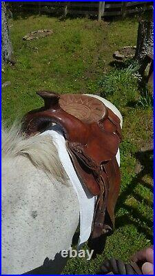 Western Saddle 14 Roper Barrel