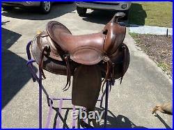 Western Working/Roping Saddle