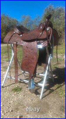 Western saddle, 15.5, used in beautiful condition